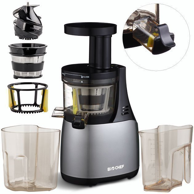 Slow Juicer Sj 5000 Von Qvc : BioChef Synergy Kalt-Press Entsafter