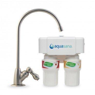 Aquasana 2-Stufen Untertisch Wasserfilter Set