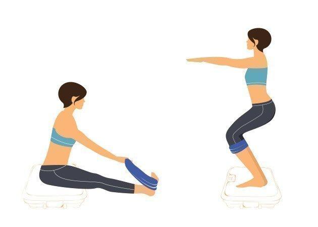 vibroslim-fitnessbaender-und-gymnastikmatte-set